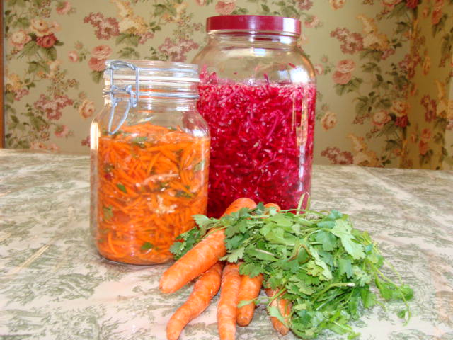 Using a veggie starter culture makes the best veggies.