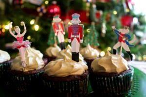 Kefir Christmas Cupcakes
