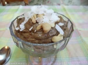 Chocolate Kefir pudding