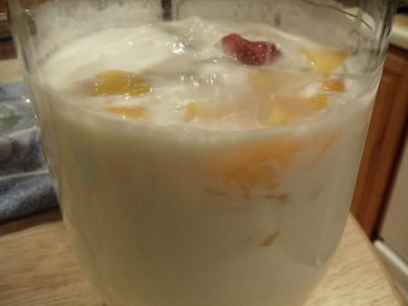 Kefir with Fruit
