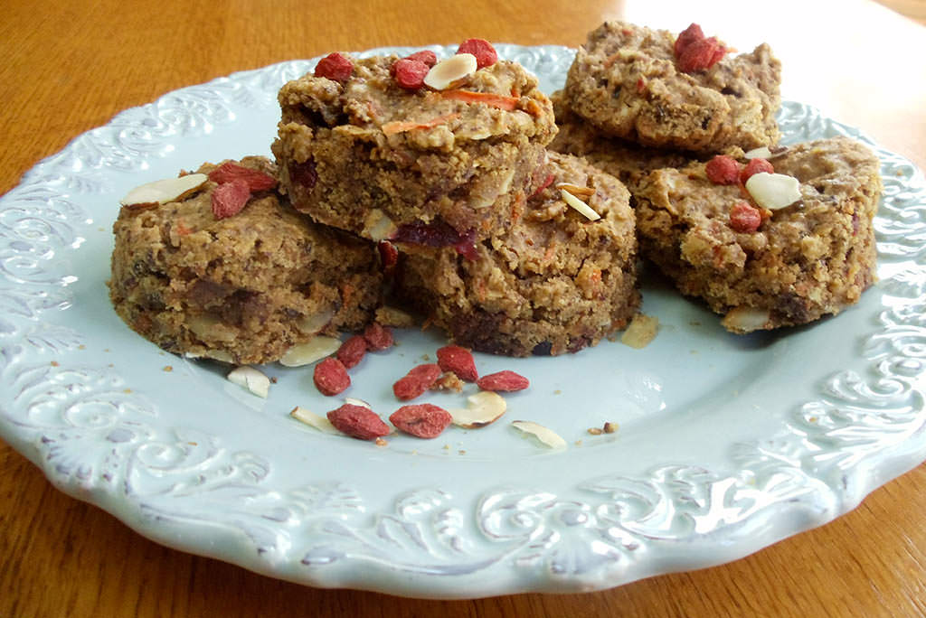 Berry Carrot Cookies
