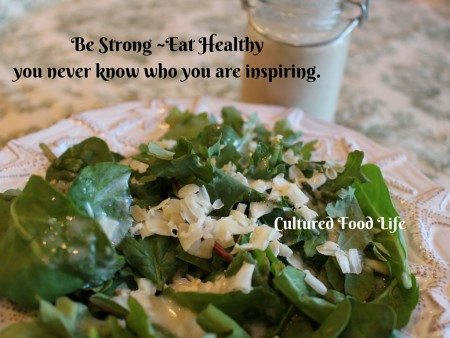 Be Strong Eat Healthy