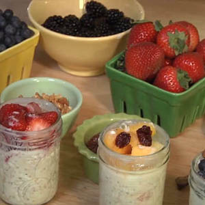 Kefir Breakfast Pudding