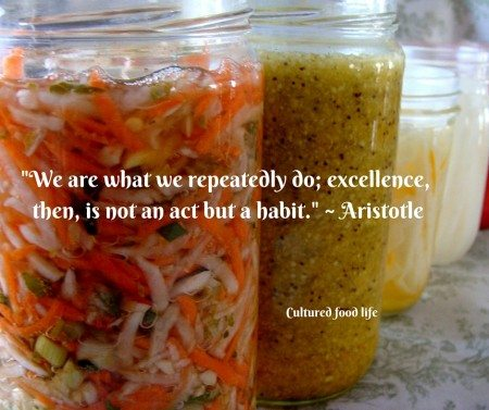 -We are what we repeatedly do; excellence, then is not an act, but a habit.- - Aristotle (1) copy