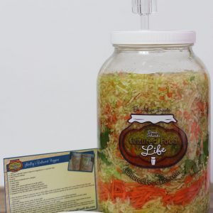 gallon airlock jar
