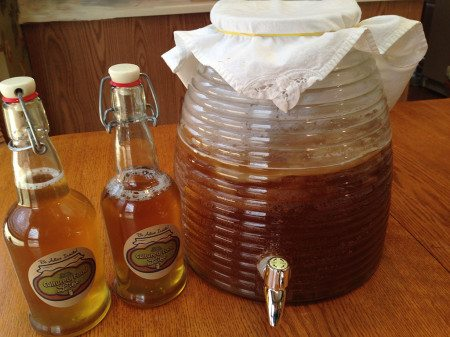 Kombucha always brewing method