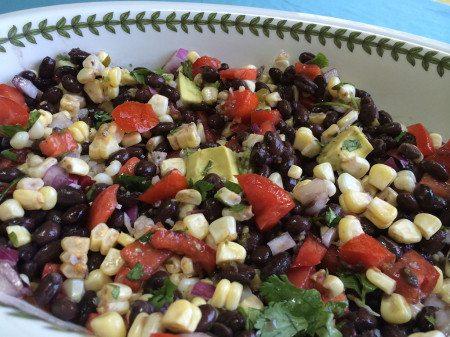 black bean kombucha salsa