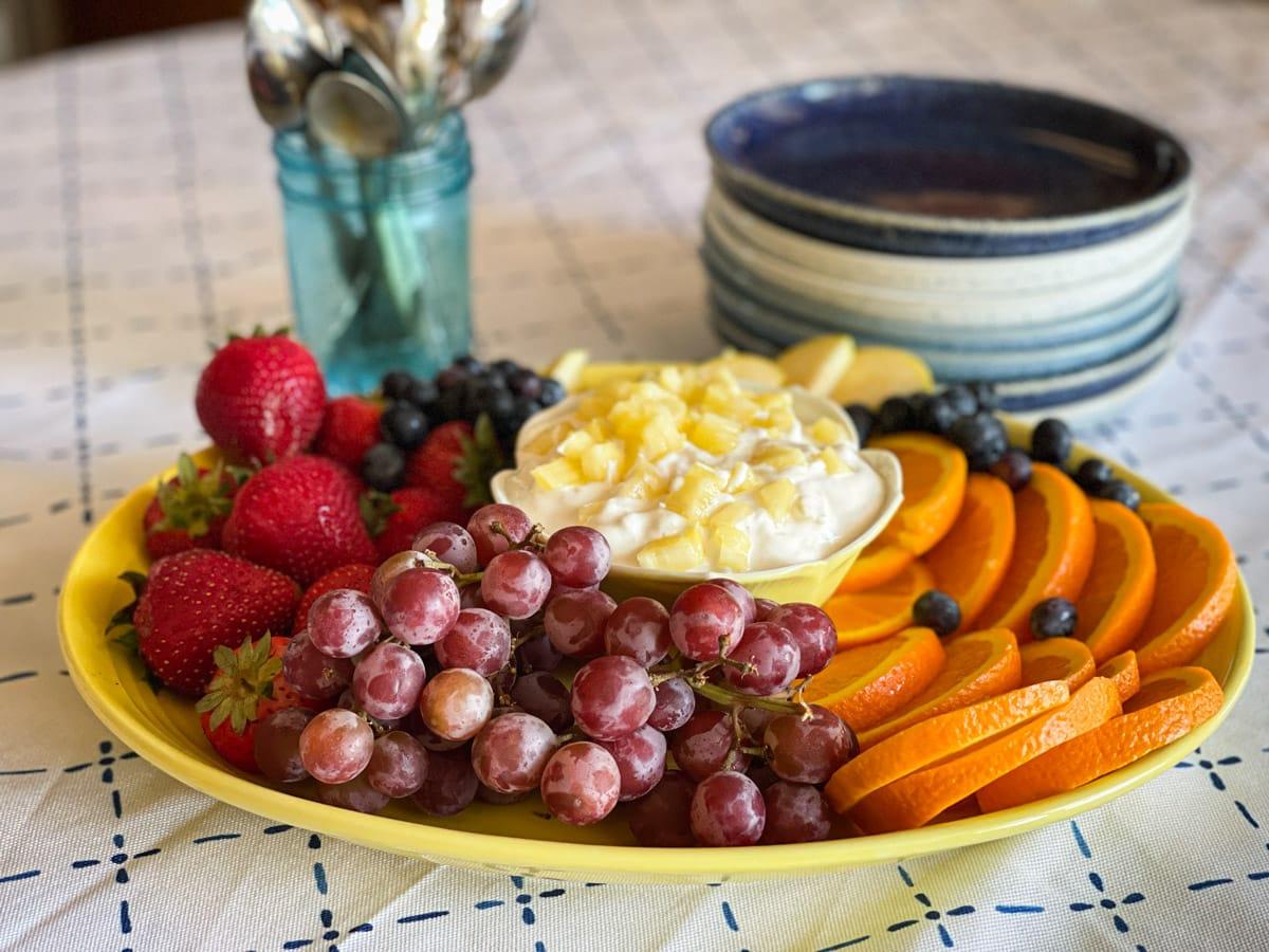 kefir fruit dip 4