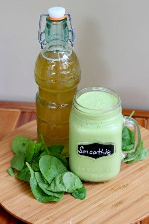 kombucha green smoothie