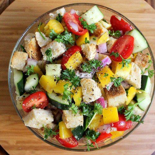 Panzanella Probiotic Salad