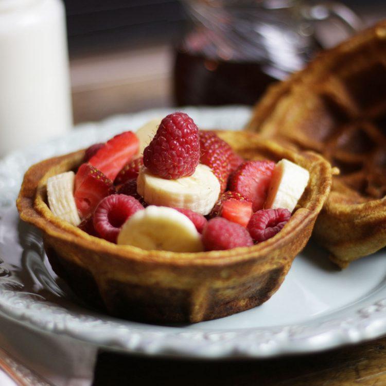 Kefir Sourdough Waffles