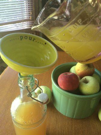 apple kombucha pouring2