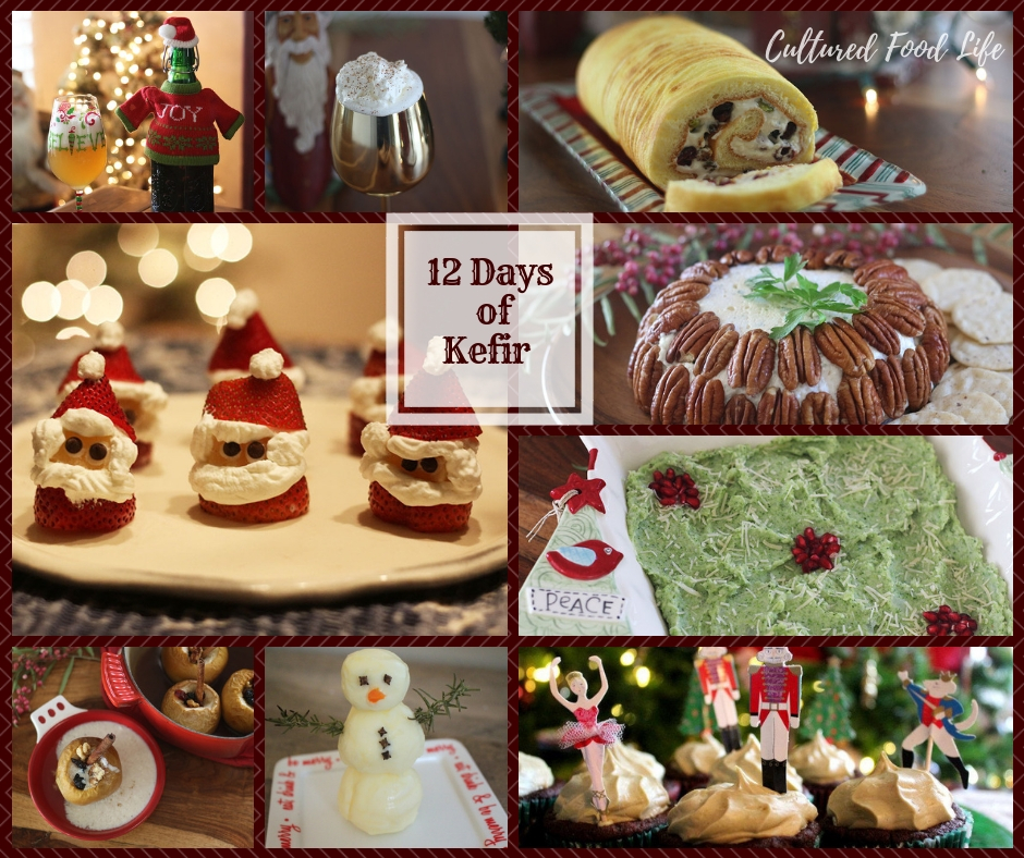 12 days of kefir