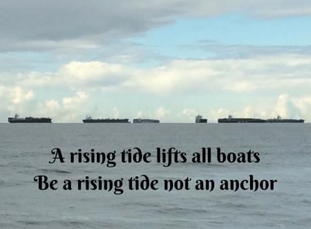 boats rising