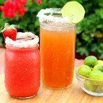 Kombucha Margarita and Strawberry Too!