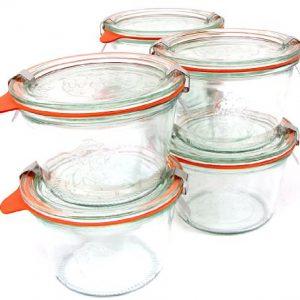 Weck 12.5oz Canning Jar; SET OF 6 (M)