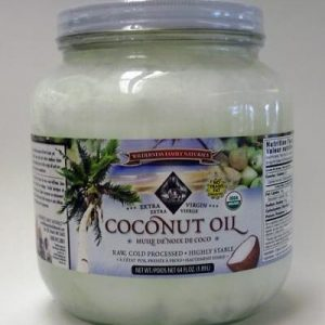 Coconut Oil, Extra Virgin Cold Pressed, Certified Organic, 1/2 gallon