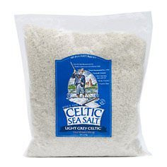 Celtic Sea Salt Bag, Light Grey, 5 Pound
