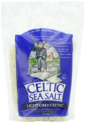 Celtic Sea Salt®, Light Grey, By The Grain & Salt Society, Coarse Ground, 1 lb