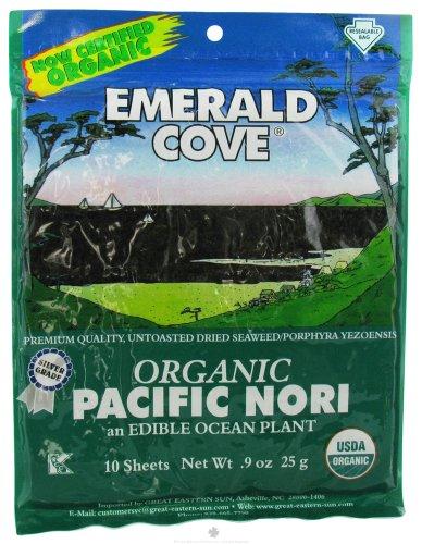 Emerald Cove - Organic Pacific Nori Silver Grade - 10 Piece(s)