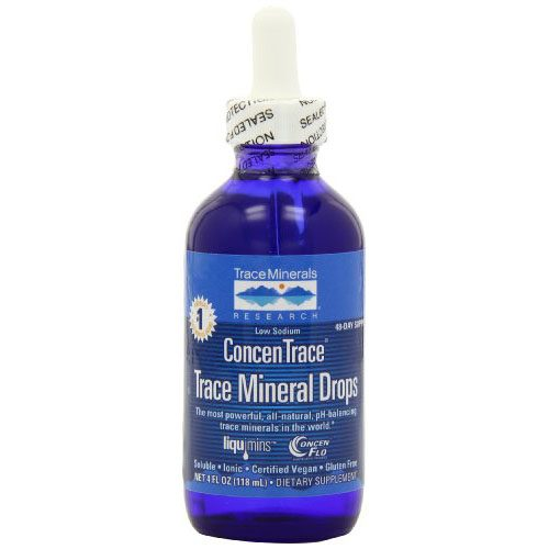 Trace Minerals Concentrace Trace Mineral Drops-Glass, 4 Ounce