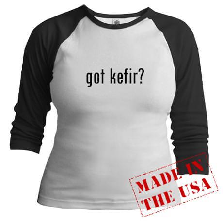 got kefir? Baseball Jersey
