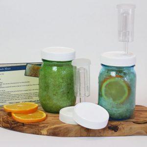 regular airlock jar lids