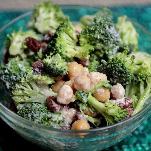 Double Probiotic Broccoli Salad