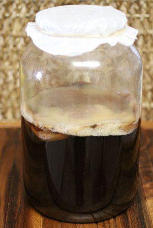 2nd fermented kombucha