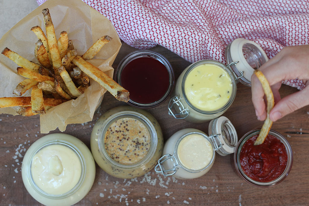 Condiments and Fries
