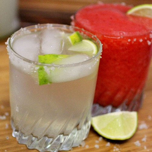 Water Kefir Margarita and Strawberry Too! Mocktails!