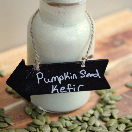Pumpkin Seed Kefir