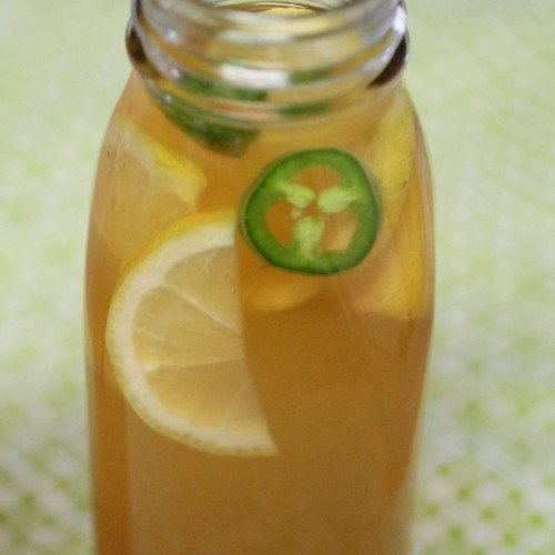 Spicy Lemon Kombucha