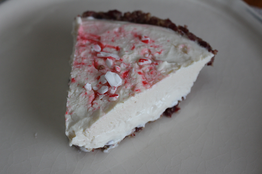 peppermint kefir pie