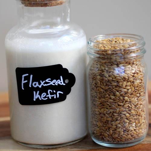 Flaxseed Kefir