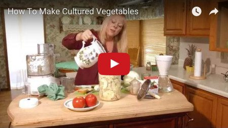 How to Make Cultured Vegetables