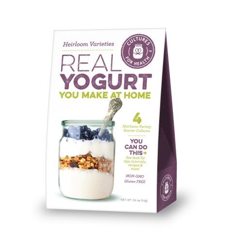 Countertop Yogurt Culture : Heirloom Yogurt Starters - Cultured Food Life