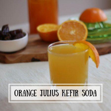 Orange Julius Kefir Soda