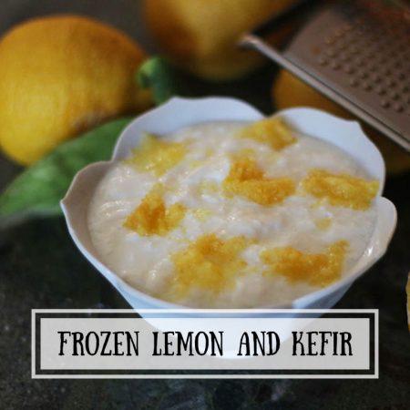 Frozen Lemon and Kefir