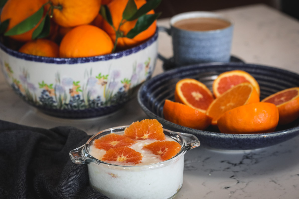 Kefir and Oranges