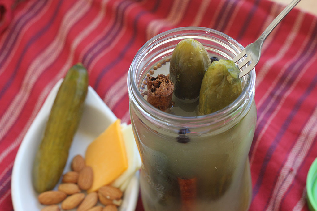 pickles and cinnamon