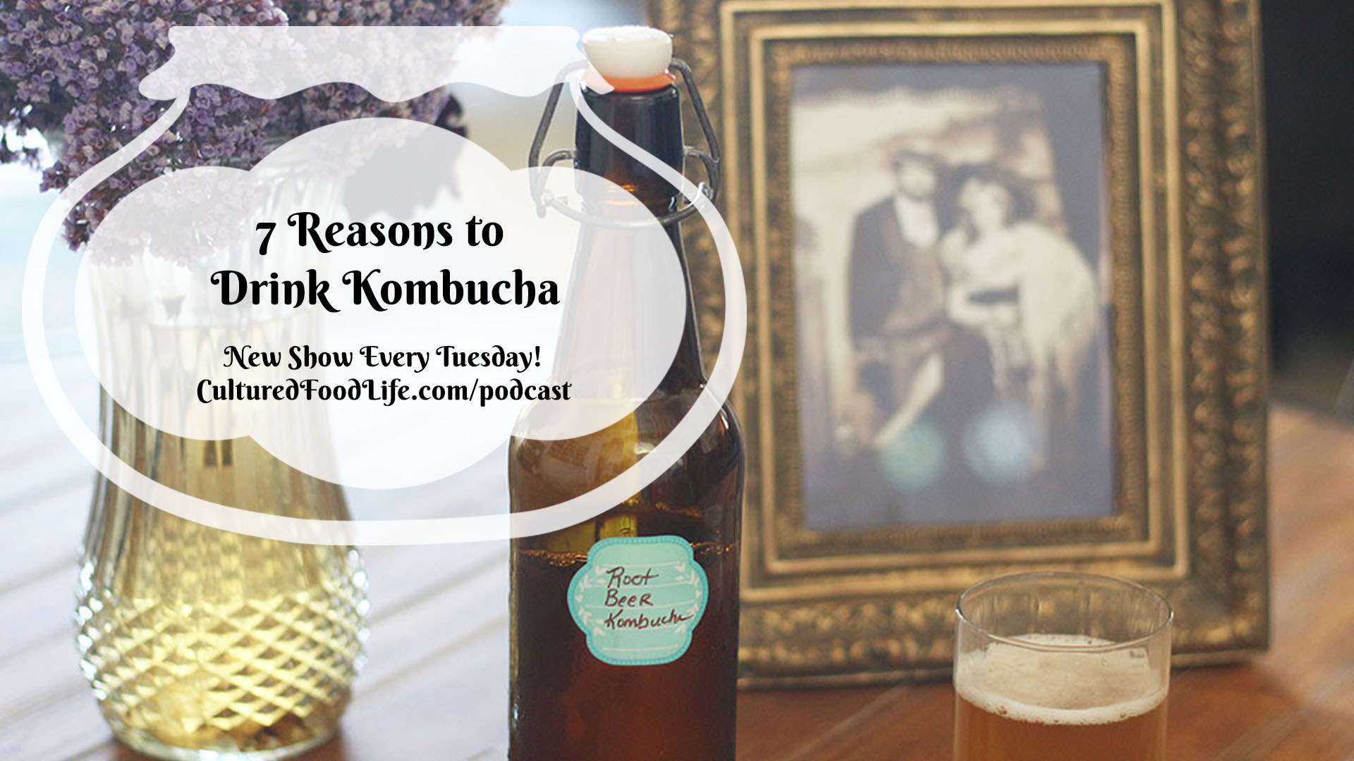 7 Reasons to Drink Kombucha full