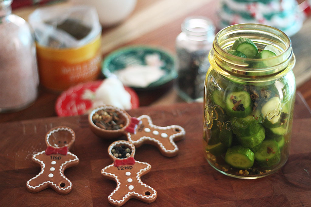 Christmas Pickles H