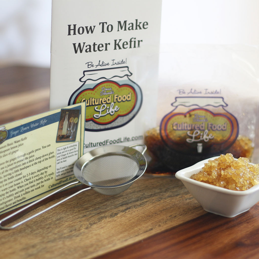 Water Kefir Crystals Kit