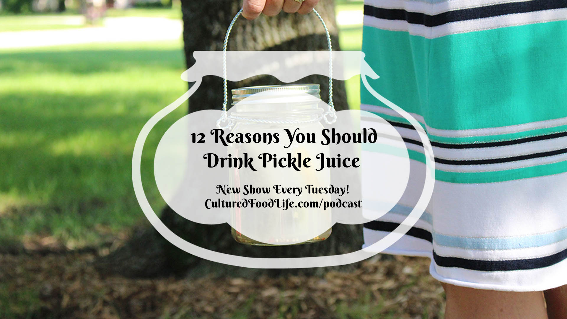 Episode 17: 12 Reasons You Should Drink Pickle Juice - Cultured Food