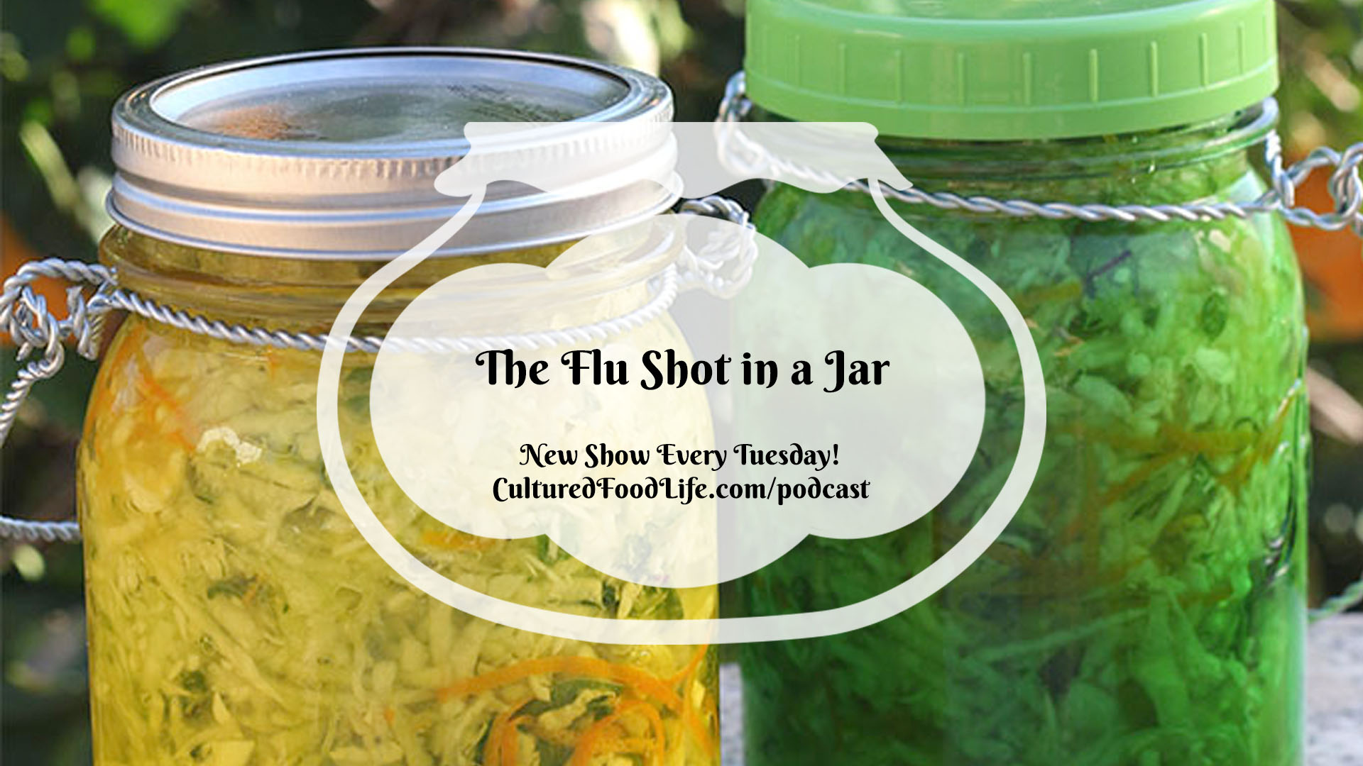 The Flu Shot in a Jar
