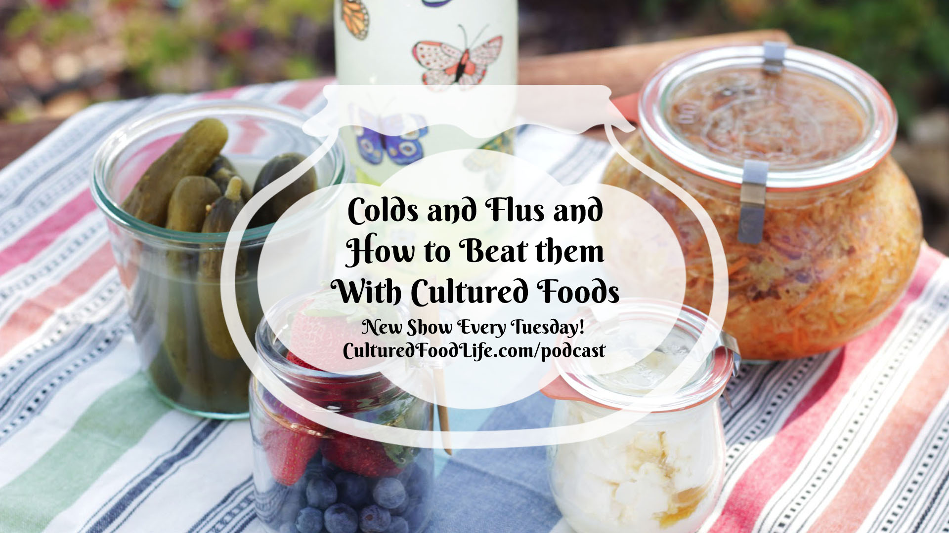 Colds and Flus and How to Beat them With Cultured Foods Full