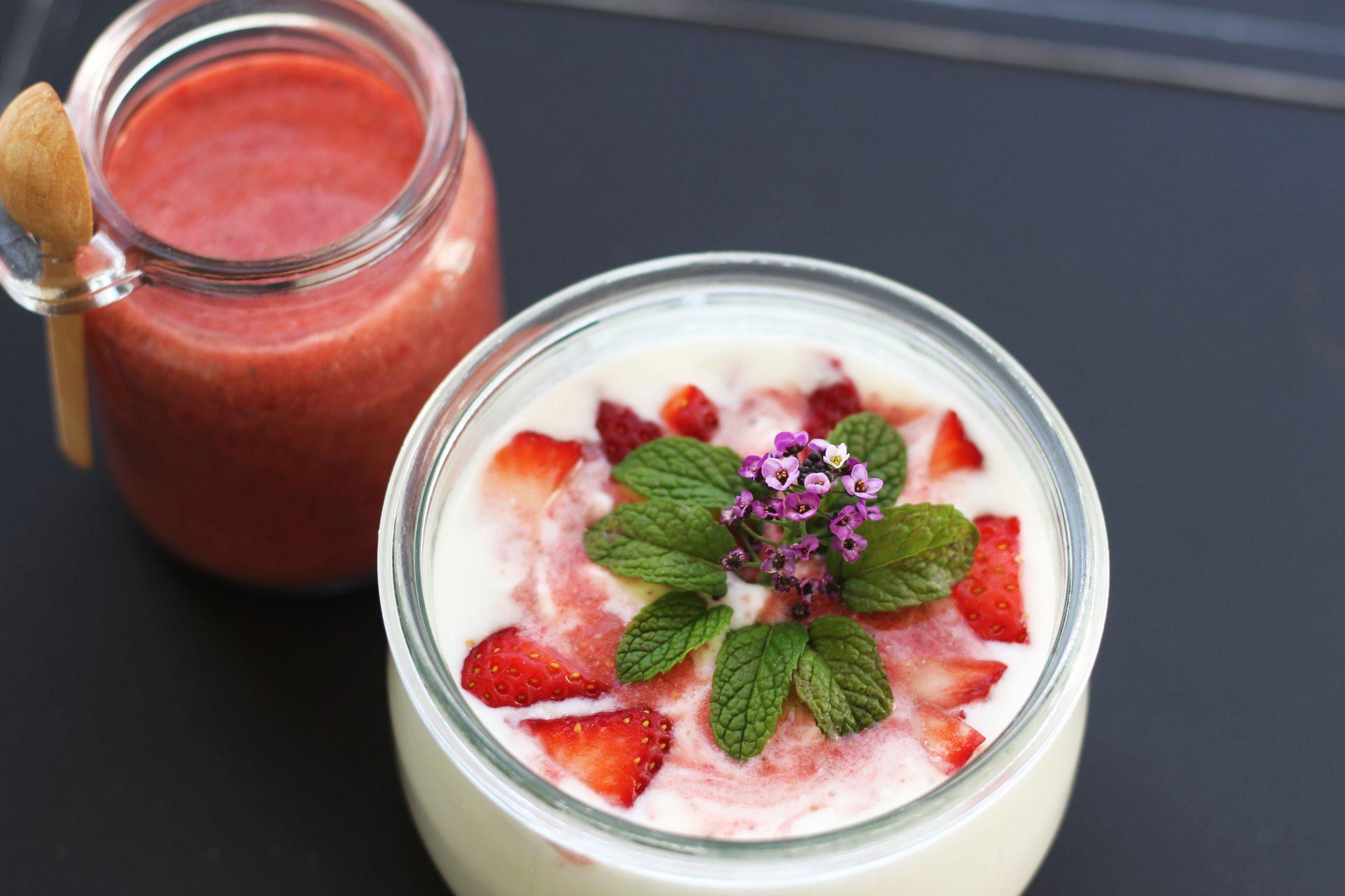 kefir strawberry