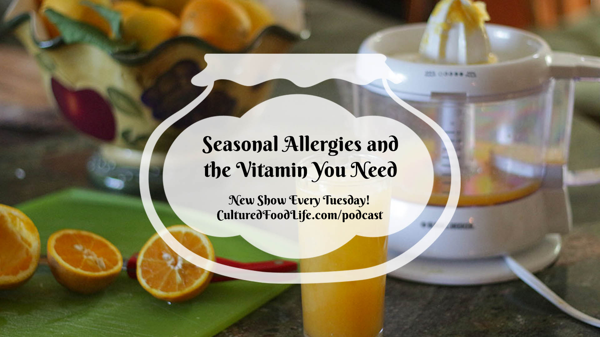 Seasonal Allergies and the Vitamin You Need Full