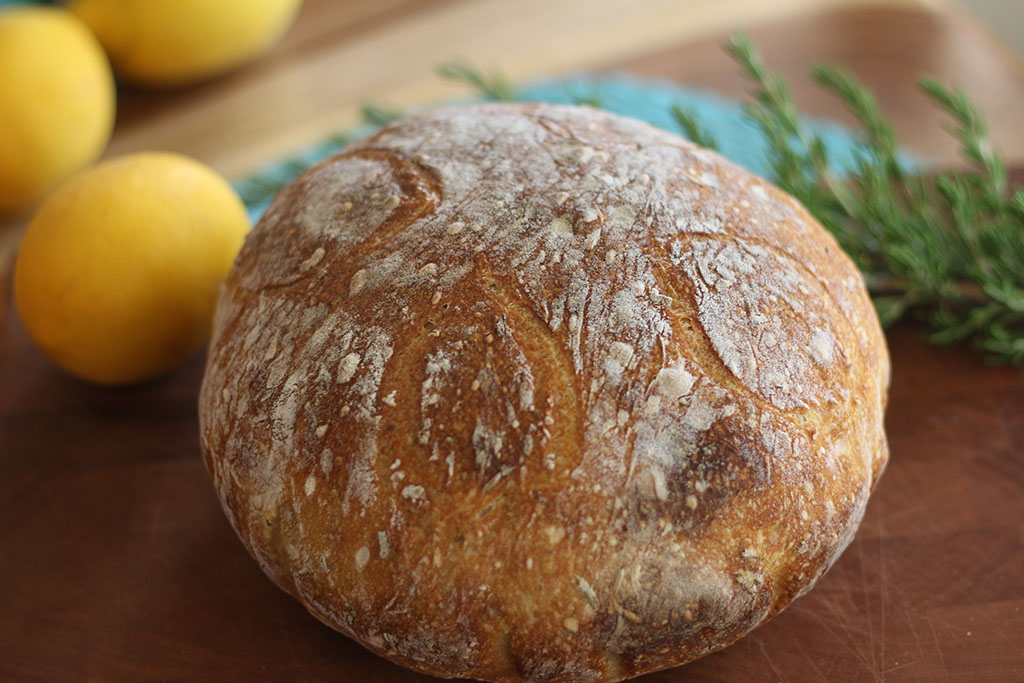 lemon Rosemary sourdough7